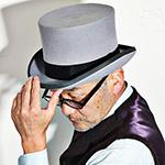 Шляпа CHRISTYS арт. FASHION TOP HAT cwf100006 (серый)